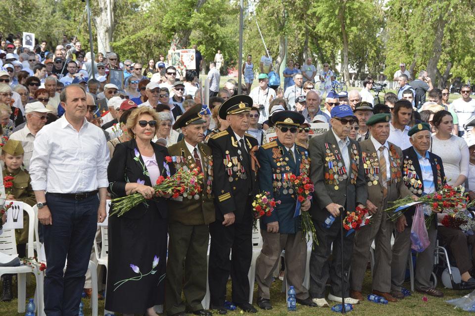 Израиль отмечает День Победы - фоторепортаж