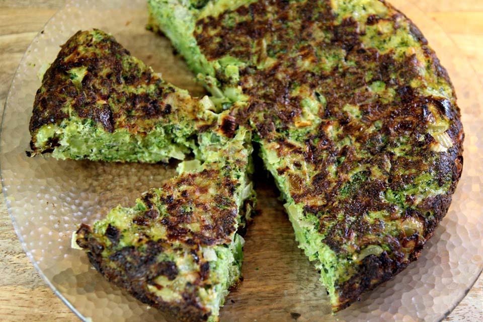 Запеканка с брокколи рецепт с фото