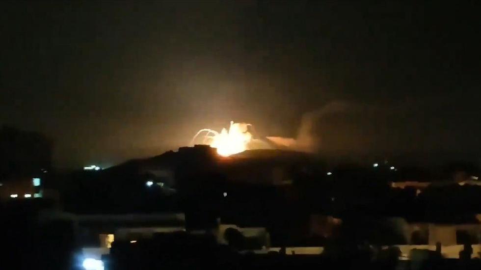 СМИ: Израиль нанес ночной удар по целям в Сирии